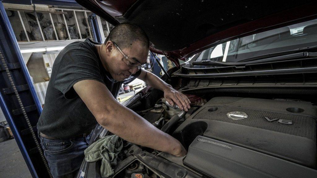 entretien d'un véhicule utilitaire