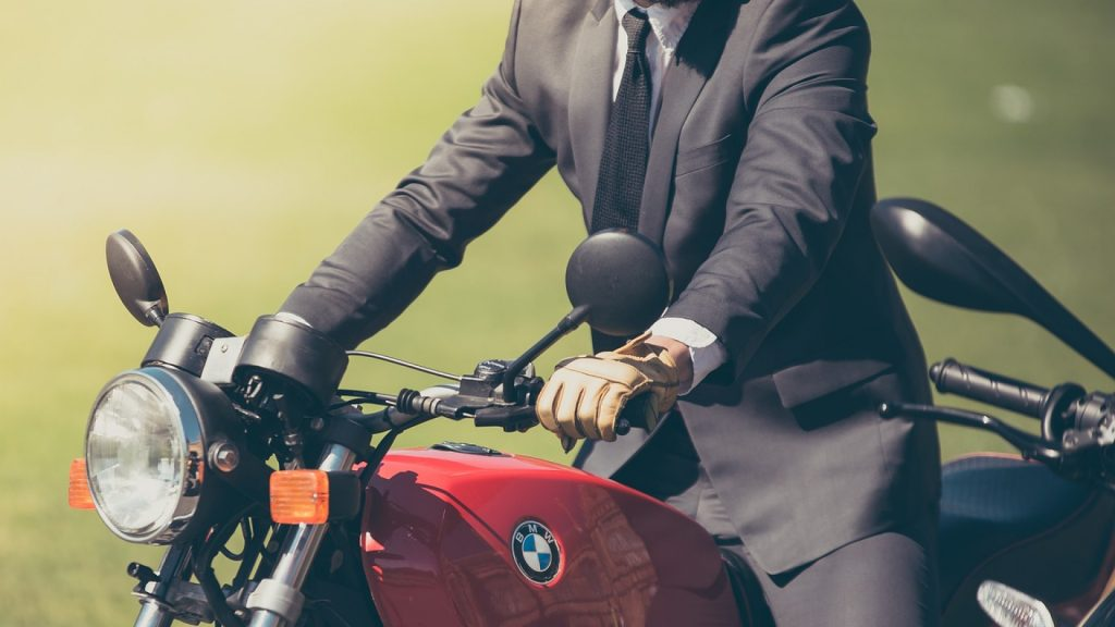 guidon de moto