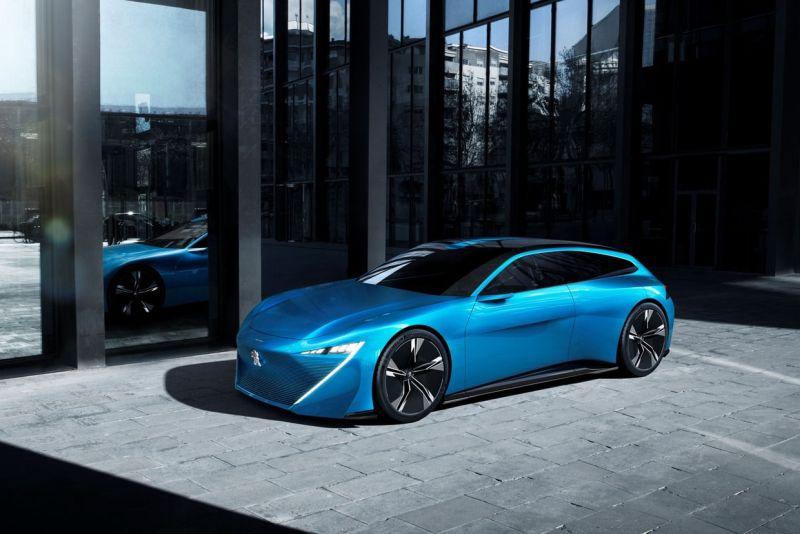 Peugeot dépasse le concept de l'auto avec Instinct concept